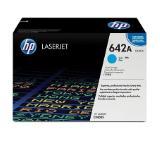 HP 642A Cyan LaserJet Toner Cartridge
