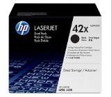 HP 42X Black Dual Pack LaserJet Toner Cartridges