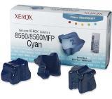 Xerox Genuine Solid Ink-8560W Cyan (3 STICKS)