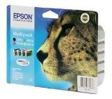 Epson DURABrite Quad Pack (T0711,T0712,T0713,T0714) - Retail Pack (untagged)