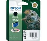 Epson T0791 Black Ink Cartridge - Retail Pack (untagged)