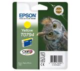 Epson T0794 Yellow Ink Cartridge - Retail Pack (untagged) for Stylus Photo 1400, Epson Stylus Photo P50