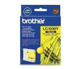 Brother LC-1000Y Ink Cartridge for DCP-130/330/540, MFC-240/440/660, DCP-350/560/770, MFC-465/680/885 series