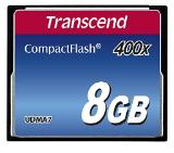 Transcend 8GB CF Card (400X)
