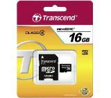 Transcend 16GB microSDHC (1 adapter - Class 4)