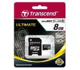 Transcend 8GB microSDHC (1 adapter - Class 10)