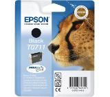 Epson T0711 Black Ink Cartridge - Retail Pack (untagged)