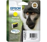Epson T0894 Yellow Ink Cartridge - Retail Pack (untagged)