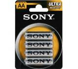 Sony Zinc R06 ZnCl 4pcs blister AA