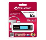 Transcend 8GB JETFLASH 760 (Blue), USB 3.0