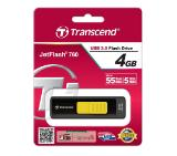 Transcend 4GB JETFLASH 760 (Yellow), USB 3.0