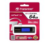 Transcend 64GB JETFLASH 760 (Blue), USB 3.0
