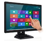 "Viewsonic TD2420, 24"",16:9, LED, 1920x1080, 5ms, 20,000,000:1, 200-250 cd/m2, Analogue/DVI/HDMI, Speaker, 2 points Touch, works with Windows 8"