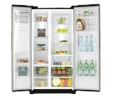 Samsung RS7778FHCBC, Refrigerator, Side by Side, 543L, Ice Maker, Twin Cooling +, Water Dispenser,Mini Bar, A++ , Black