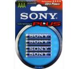 Sony AM4B4D Alkaline R03 Stamina Plus 4pcs blister AAA