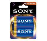 Sony AM1PTB2D Alkaline R20 Stamina Platinum 2pcs blister