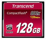 Transcend 128GB CF Card (800x)