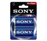 Sony AM1B2D Alkaline R20 Stamina Plus 2pcs blister