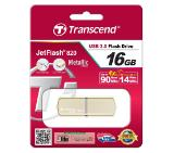 Transcend 16GB JETFLASH 820, USB 3.0, Gold