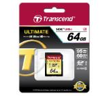 Transcend 64GB SDXC UHS-I U3 Card