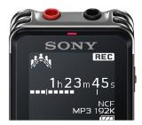 Sony ICD-UX543, 4GB, OLED Display, Linear PCM, Memory card slot microSD, Direct USB, black
