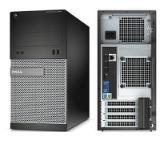 Dell OptiPlex 3020 MT, Intel Core i5-4590 (up to 3.70 GHz, 6MB), 4096MB 1600MHz DDR3, 500GB HDD, DVD+/-RW, Intel HD Graphics, Mouse&Keyboard, Internal Speaker, Ubuntu, 3Y NBD