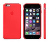 Apple iPhone 6 Plus Silicone Case Red