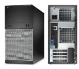 Dell OptiPlex 3020 MT, Intel Core i3-4160 (3.60GHz, 3MB), 4096MB 1600MHz DDR3, 500GB HDD, DVD+/-RW, Intel HD Graphics, Mouse&Keyboard, Internal Speaker, Ubuntu, 3Y NBD