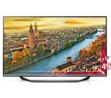 "LG 49UF770V, 49"" 4K Ultra HD TV, 3840x2160, DVB-C/T2/S2, 1400PMI, HDMI, Smart,WIDI, DLNA, Wi-Fi Built in, DVR Ready USB 2/3.0, Scart, CI, Speakers, Metal Black/Ribon Black"