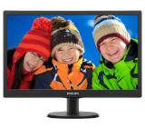 "Philips 203V5LSB26, 19.5"" Wide TN LED, 5 ms, 10M:1 DCR, 200 cd/m2, 1600x900 HD+, Black"