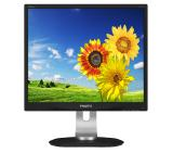 "Philips 19P4QYEB, 19"" ADS LED, 5 ms, 20M:1 DCR, 250 cd/m2, 1280x1024, USB, DVI,  DP, Speakers, Black"