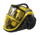 Rowenta RO8324EA, Silence Force MultiCyclonic, 750W, HEPA13, 2L, Ergo Comfort Silence handle with brush, Parquet, Crevice tool, Upholstery nozzle, yellow