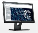 "Dell E1916H, 18.5"" Wide LED Anti-Glare, TN Panel, 5ms, 600:1, 200 cd/m2, 1366x768 HD, VGA, Display Port, Tilt, Black"