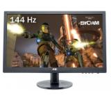 "AOC G2460FQ, 24"" Wide TN LED, 1 ms, 80М:1 DCR, 350 cd/m2, FullHD 1920x1080, DVI, HDMI, DP, Speakers, Black"
