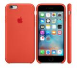 Apple iPhone 6s Silicone Case - Orange
