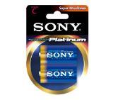 Sony AM2PT-B2D Alkaline LR14 Stamina Platinum 2pcs blister, C