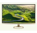 "Acer H277HUsmipuz, 27"" Wide IPS LED, Anti-Glare, 4ms, 100M:1 DCR, 350 cd/m2, 2560x1440 WQHD, DVI, HDMI, USB 3.1 Hub, DTS Speakers, ZeroFrame, Silver&White"