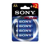 Sony AM3-B4X2D Alkaline LR6 Stamina Plus 4+2 pcs pack, AA