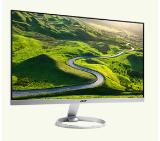 "Acer H277HKsmidppx, 27"" Wide IPS LED, Anti-Glare, 4ms, 100M:1 DCR, 350 cd/m2, 3840x2160 4K2K, DVI, HDMI, DisplayPort, DTS Speakers, ZeroFrame, Silver&Black"