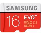 Samsung 16GB micro SD Card EVO+ with Adapter, Class10, UHS-1 Grade1, Read 80MB/s - Write 10MB/s