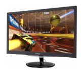 "Viewsonic VX2257-MHD 22"" 16:9 (21.5"") 1920 x 1080 Free Sync monitor with 1ms, 250 nits, VGA, HDMI and DisplayPort, speakers, low EMI"
