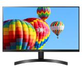 "LG 27MK600M-B, 27"" IPS, LED AG, 5ms GTG, 1000:1, Mega DFC, 250cd/m2, Full HD 1920x1080, Free-sync, D-Sub, HDMI, Tilt, H/P out, Glossy Black"