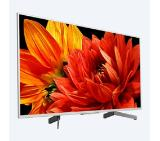 "Sony KD-49XG8377 49"" 4K HDR TV BRAVIA, Edge LED with Frame dimming, Processor 4K HDR X1, Triluminos, Dynamic Contrast Enhancer, Object-based HDR remaster, Android TV 7.0, XR 1000Hz, DVB-C / DVB-T/T2 / DVB-S/S2, USB, Voice Remote, Silver"