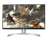 "LG 27UL650-W, 27"" Wide LED, IPS Panel Anti-Glare, sRGB 99%, Cinema Screen, 5ms, 1000:1, Mega DFC, 350 cd/m2, 3840x2160, VESA DisplayHDR 400, HDMI, DisplayPort, FreeSync, Headphone out, Tilt/Height/Pivot, Black"