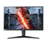"LG 27GN750-B, 27"" UltraGear IPS, 1ms (GtG at Faster), 240Hz, 1000:1, 400cd/m2, Full HD 1920x1080, Radeon FreeSync, G-Sync Compatible, HDR 10, sRGB 99%, USB, HDMI, DisplayPort,  Height Adjustable, Tilt, Pivot, Black"