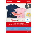 Canon Dark Fabric Iron-on Transfers A4